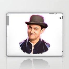 Aamir khan portrait Digital Panting Laptop & iPad Skin