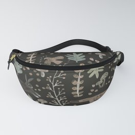 Woodland Nature at Night Fanny Pack