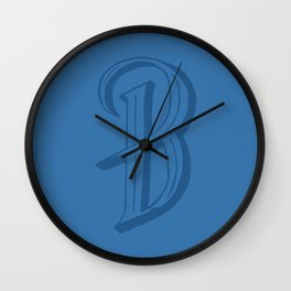 The Letter B (II) Wall Clock