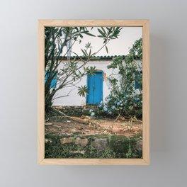 Door Framed Mini Art Print