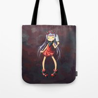 popsicle Tote Bags featuring Popsicle by Freeminds