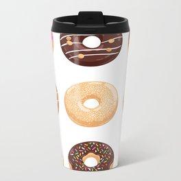 Donut collection Metal Travel Mug