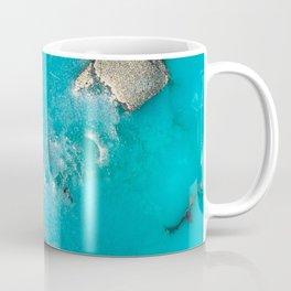 Turquoise & Gold Coffee Mug