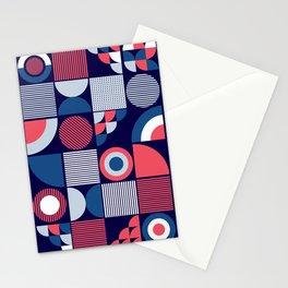 Mod Geo Stationery Cards