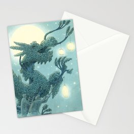 The Night Gardener - The Dragon Tree, Night Stationery Cards