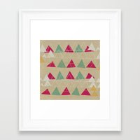 odd future Framed Art Prints featuring odd  by spinL
