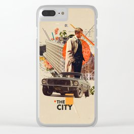 The City 1968 Clear iPhone Case