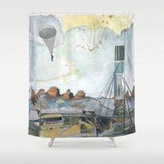 Exploration: Drought Shower Curtain