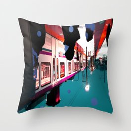 We Remain Undefinable. Throw Pillow