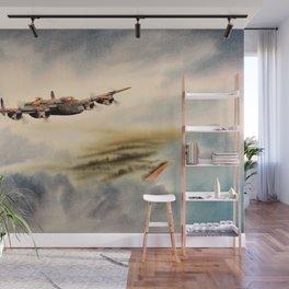 Avro Lancaster Aircraft Wall Mural