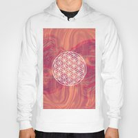 flower of life Hoodies featuring Life Flower by shutupbek