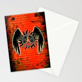 Saving People, Hunting Things Stationery Cards