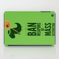 jurassic park iPad Cases featuring Occupy Jurassic Park by AGRIMONY // Aaron Thong