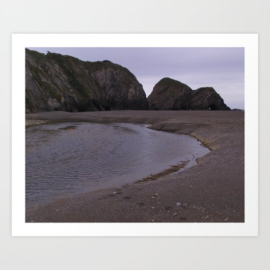 BeachVII Art Print