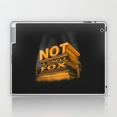 Not a single fox was given that day Laptop & iPad Skin