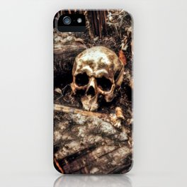 Bones In The Forest iPhone Case