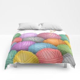 So Much Yarn Comforters