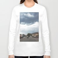 greece Long Sleeve T-shirts featuring Greece by Pauline Gauer