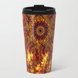 Lava Fractal Travel Mug
