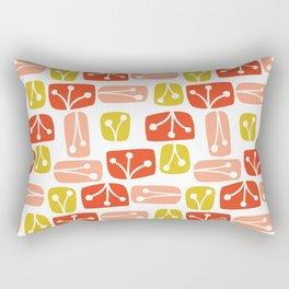 Fresh Abstract Floral Rectangular Pillow