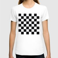 chess T-shirts featuring Chess Game by erkki