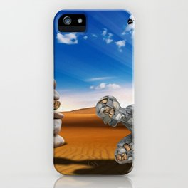 Homem de Pedra iPhone Case