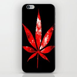 Weed : High Times red Galaxy iPhone Skin