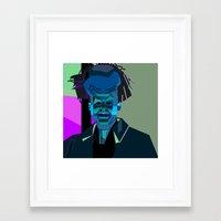 jack nicholson Framed Art Prints featuring JACK NICHOLSON by Joshua Holmes