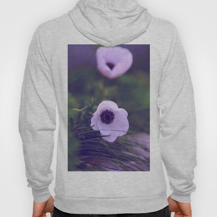 Purple Anemone Hoody