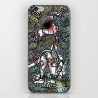 unicorn iPhone & iPod Skins featuring Unicorn by AKIKO