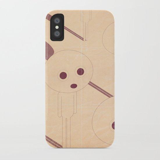 p e r p l e s s i iPhone Case