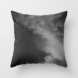 Coulds of Smoke Throw Pillow