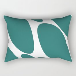 Rocks by the sea Rectangular Pillow