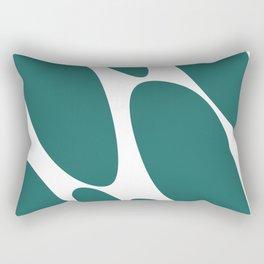 Rocks by the sea Rectangular Pillow