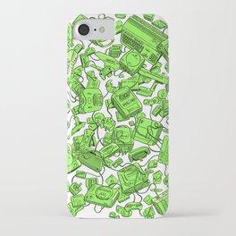 Vintage Gamer Green iPhone Case