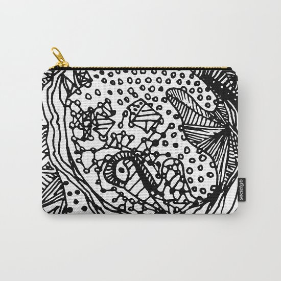 Full Moon Love - BW Carry-All Pouch