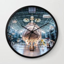 Shuttle Wall Clock