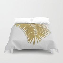 Palm Leaf Gold I Duvet Cover