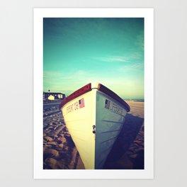 Lifeboat, Cape May Art Print