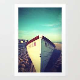 Lifeboat, Cape May Art Print
