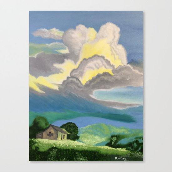 Storm Canvas Print