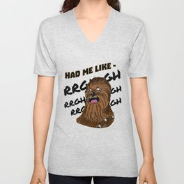 "Chewy- ""RGHGHGH"" Unisex V-Neck"