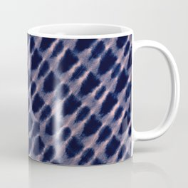 indigo diagonal Coffee Mug