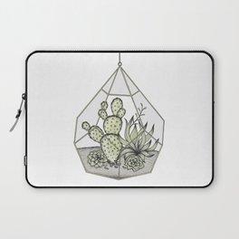 Succulent Terrarium Laptop Sleeve