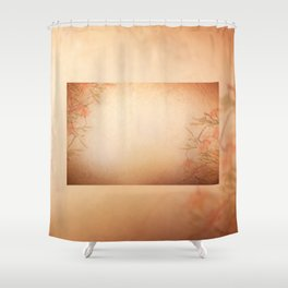 lily floral cloth abstract Shower Curtain