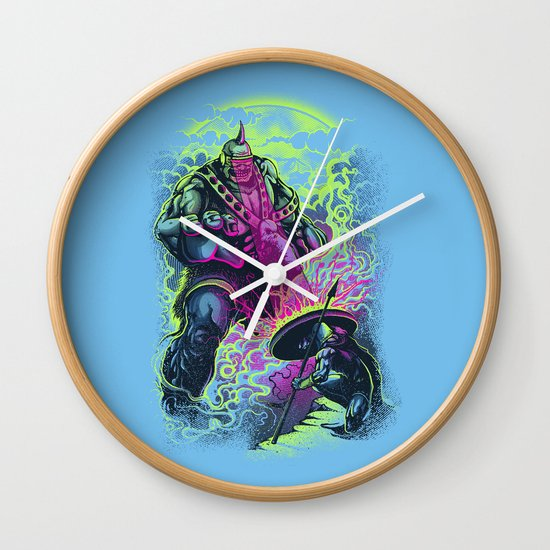 Magnysseus vs the Cyclops: X-Odyssey Wall Clock
