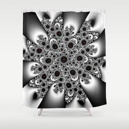 Black Harmonie Shower Curtain