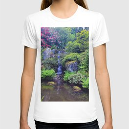 Picture Seattle USA The Kubota Washington Stream Nature Pond Gardens Creek brook Creeks Streams T-shirt