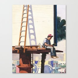 Lunch On Pico Canvas Print