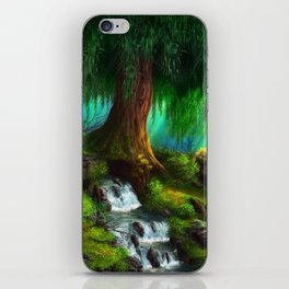 Under The Weepin Willow iPhone Skin